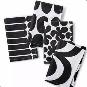 "Marimekko for Target 4pk 20""x20"" Cotton Napkins"